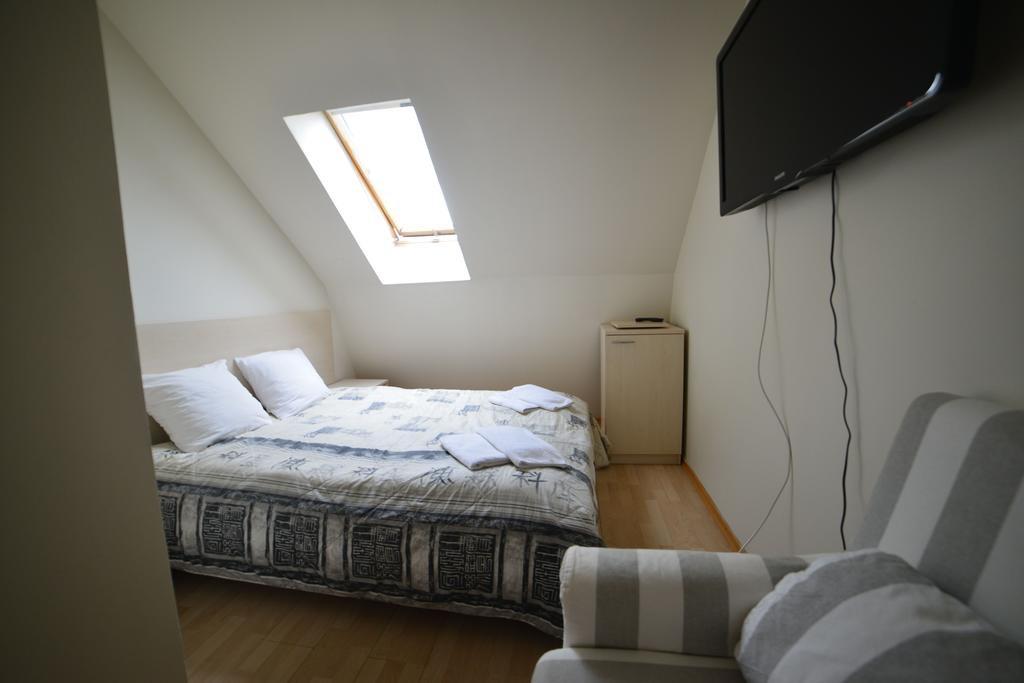 Room. Bohema. Hotel. Klaipėda, old town