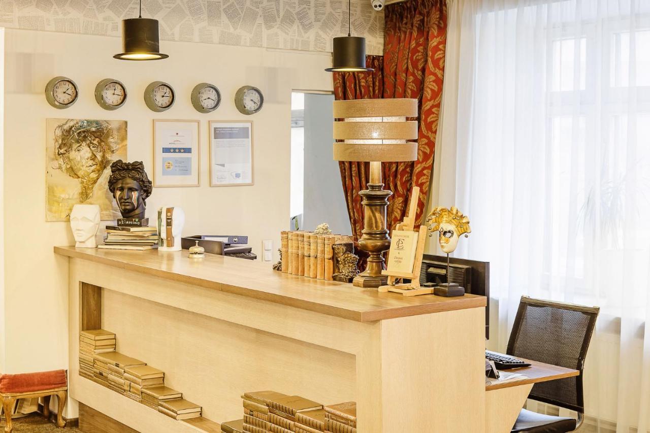 Lounge. Viešbučio BOHEMA fojė Klaipėdoje
